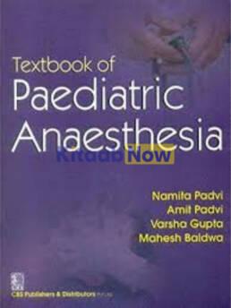 Textbook Of Paediatric Anaesthesia