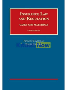 Insurance Law And Regulation, 6th (UNIVERSITY Casebook Series)